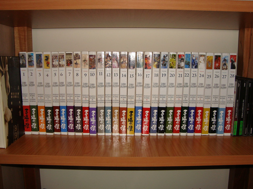 Manga Collection Lone Wolf And Cub My Complete Collection Flickr