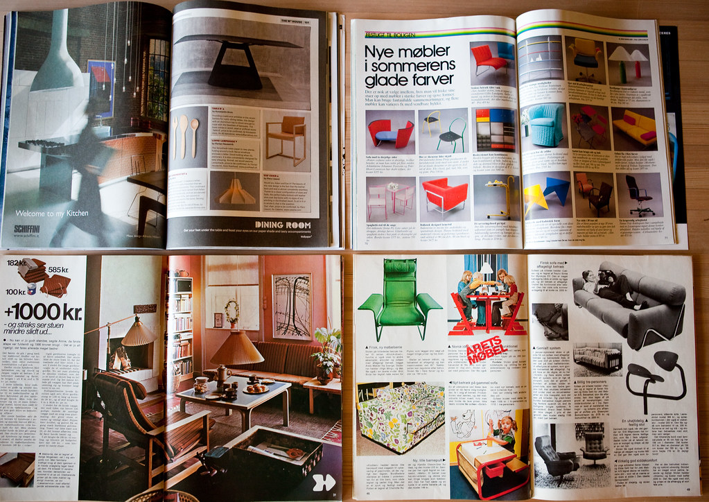 Interior Design Mags, A 36 Year Span | Lars Plougmann | Flickr