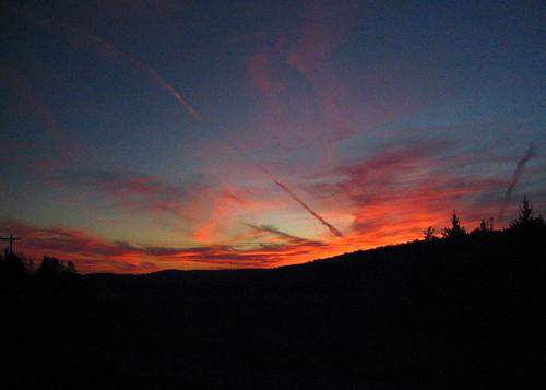 sunset sky college digital canon landscape vermont powershot bennington s500 canonpowershots500