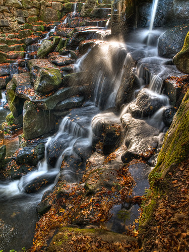 Waterfall at Virginia Water | by wwarby