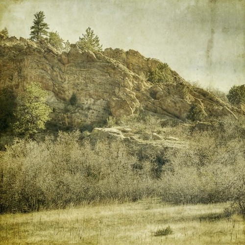 morning light cliff canon vintage square colorado hdr textured highlighted 70300 scruboak roxboroughstatepark t1i