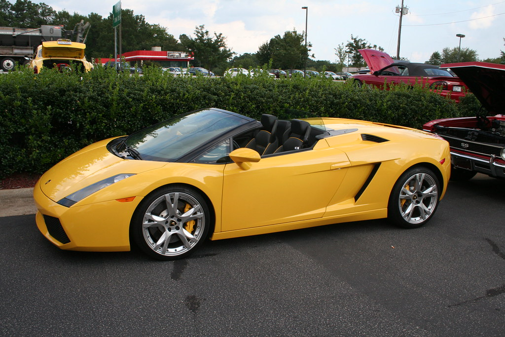 Lamborghini Gallardo Spyder Yellow Mitch Prater Flickr