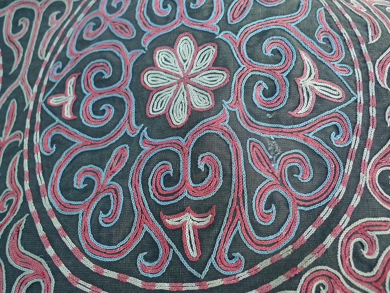 Kazakh Fabric3 closeup