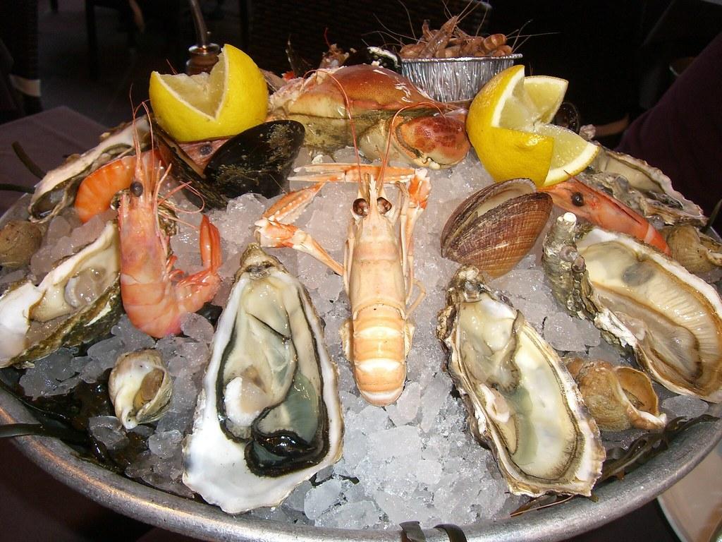 Image De Plat De Cuisine our plat de fruits de mer | nice, côte d'azur france novembe