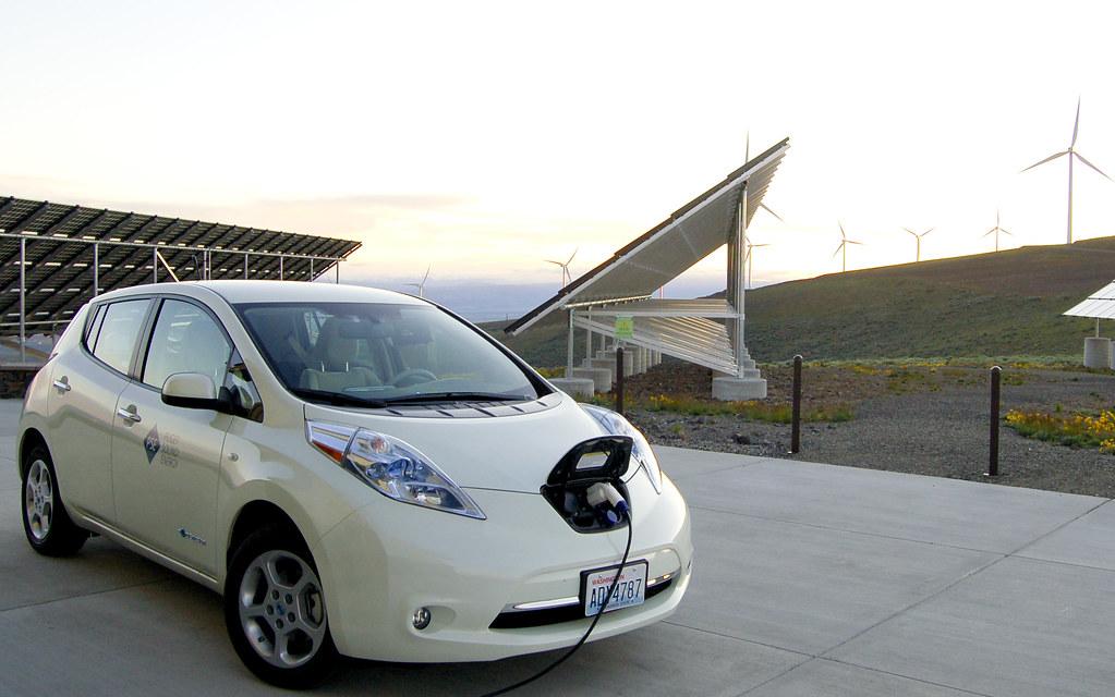 Nissan Leaf at Wild Horse