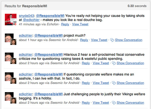 Twitter Search Results for: ResponsibleWI | by edkohler