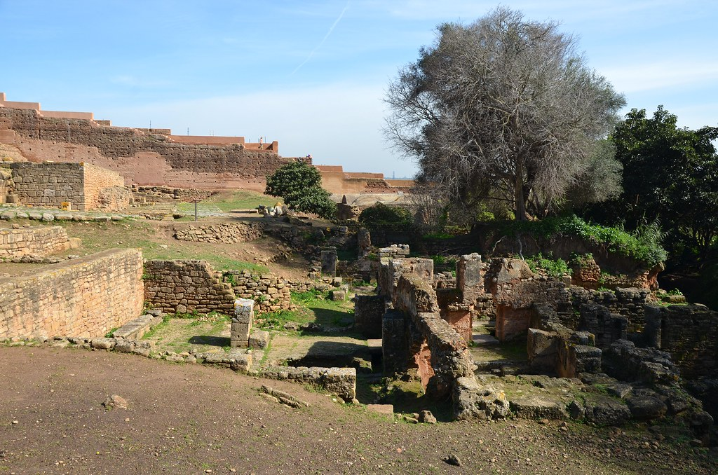 The Public Baths Of Sala Located At The Intersection Of Th Flickr
