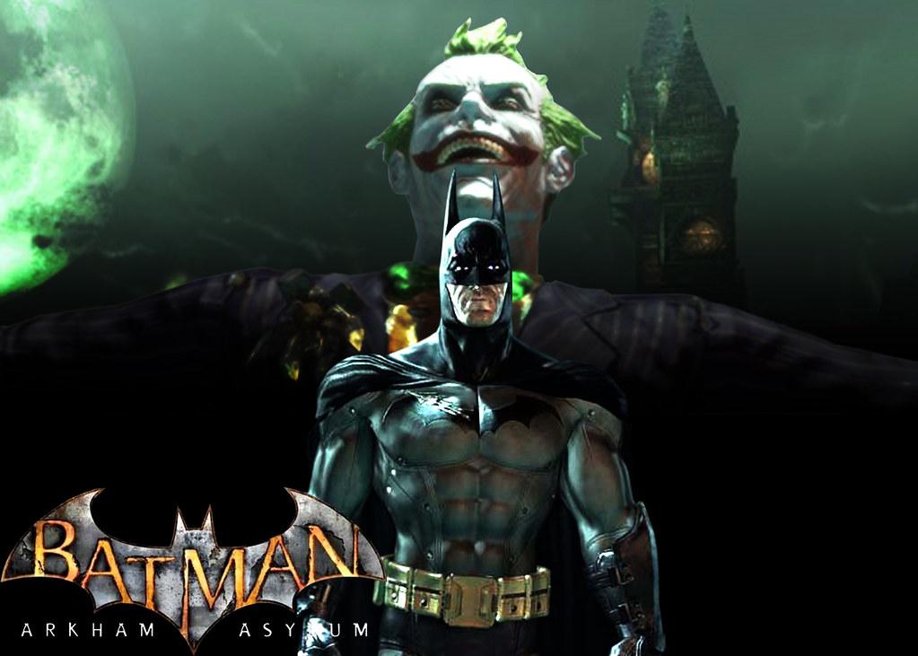 Batman Arkham Asylum Wallpaper This Picture Took Way To Lo