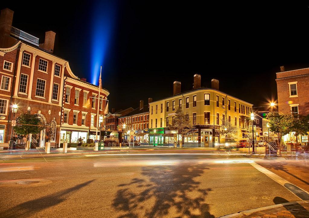 Market Square Evening by Philip Case Cohen