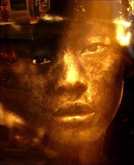 Behind the bookshop window  ~ Golden boy ~  Paris ~ MjYj