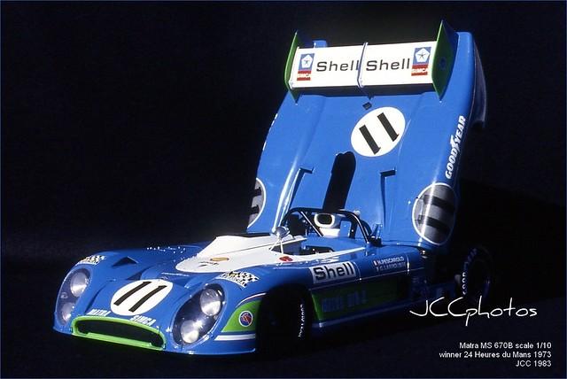 24 Heures du Mans 1973 Matra 670B scale 1/10 by JCC