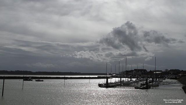 Picardie Le port du Crotoy