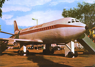 Air-India Boeing 707 Juhu Garden Bombay | by dlberek