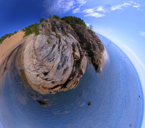 Tadoussac Sand Dunes - Waterworld version   by haban hero