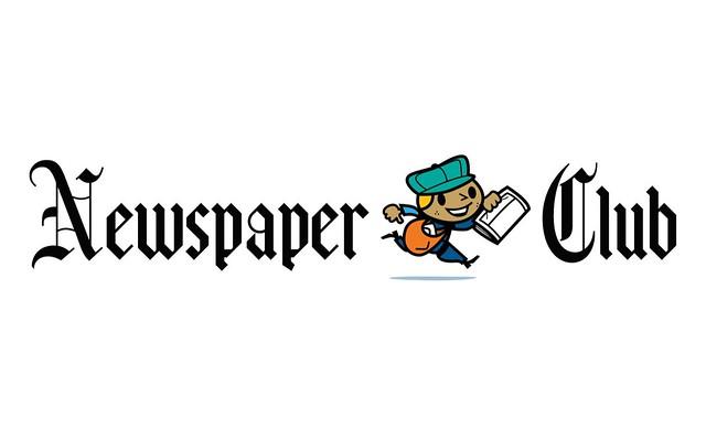 Newspaper Club logo   www.newspaperclub.co.uk/   Ben ...