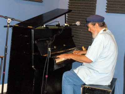 Dr. John at WWOZ in 2009.