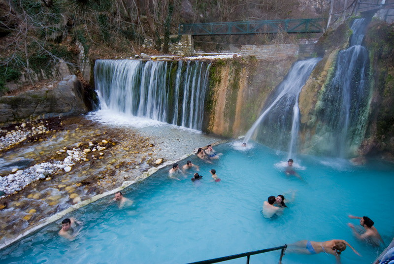 Loutra Pozar Thermal Baths In Loutraki Loutra Pozar In Lou Flickr