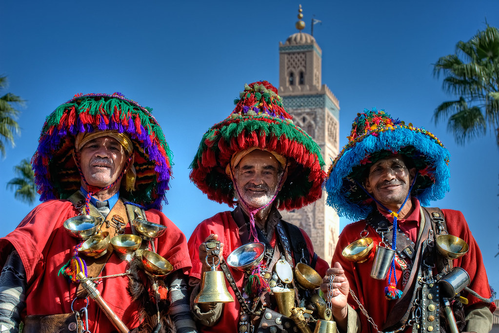 Water sellers – Vendedores de agua, Marrakech HDR by marcp_dmoz