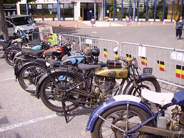 Motos anciennes, Briare