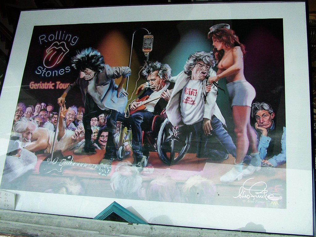 2004 10 19 Dscf3314 Rolling Stones Poster Im Schaufens Flickr