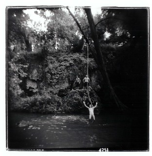 Maddie rope swing | by Laura Burlton - www.lauraburlton.com