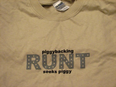 Runt t-shirt