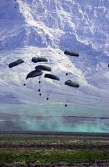 Supply drop-Bahgran Valley, Afghanistan, Feb. 2003-Large view best! | by lakerae