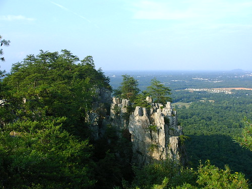 Crowder's mtn. aug 2005 - view looking north | by Jason A G