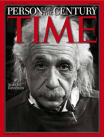 Time Magazine - Cover mit Einstein