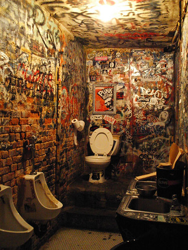 CBGB Bathroom | by gnta