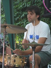 ben on drums | by workforidlehands