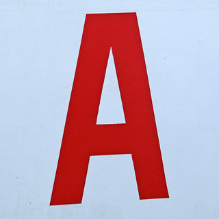 letter A | by Leo Reynolds