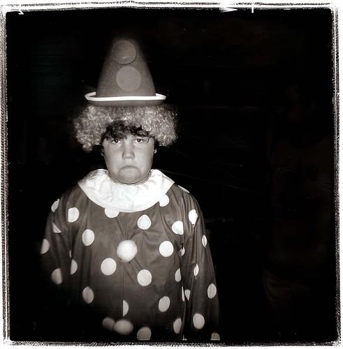 jake clown | by Laura Burlton - www.lauraburlton.com