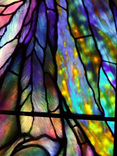 Detail - Tiffany-style stained glass | by Creativity+ Timothy K Hamilton