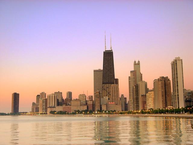 L.A.T.E. Ride July 10 2005 - Chicago Skyline