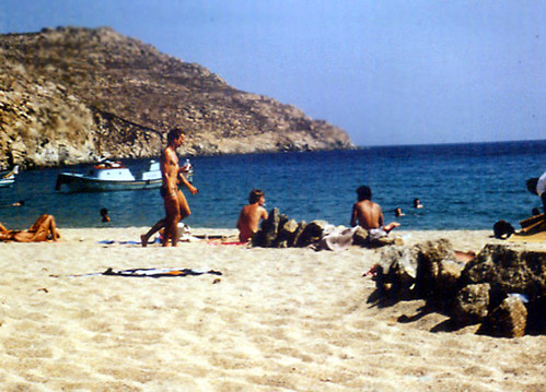 Super Paradise Beach In Mykonos In 1981 Longingtobe There Flickr