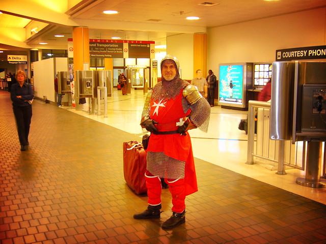 A Knight that Said