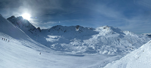 Courchevel from Chanrossa | by BennBeck