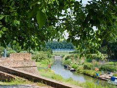 Rivier de 'Korne' en Stadswal - Buren