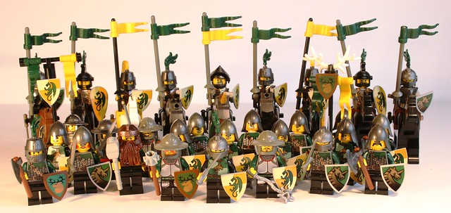 Lenfel Melee Infantry and Knights