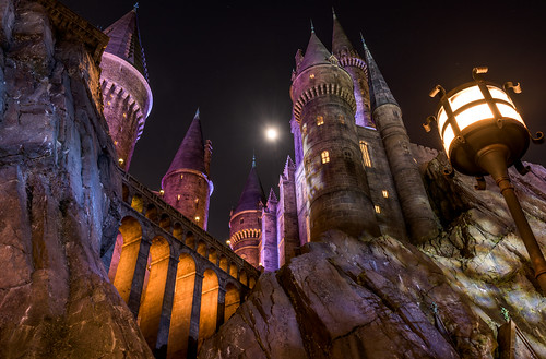 world travel vacation moon holiday castle landscape islands orlando nikon florida zoom witch wizard harry potter adventure universal studios standard hogwarts hogsmeade 2470 d810 wizarding