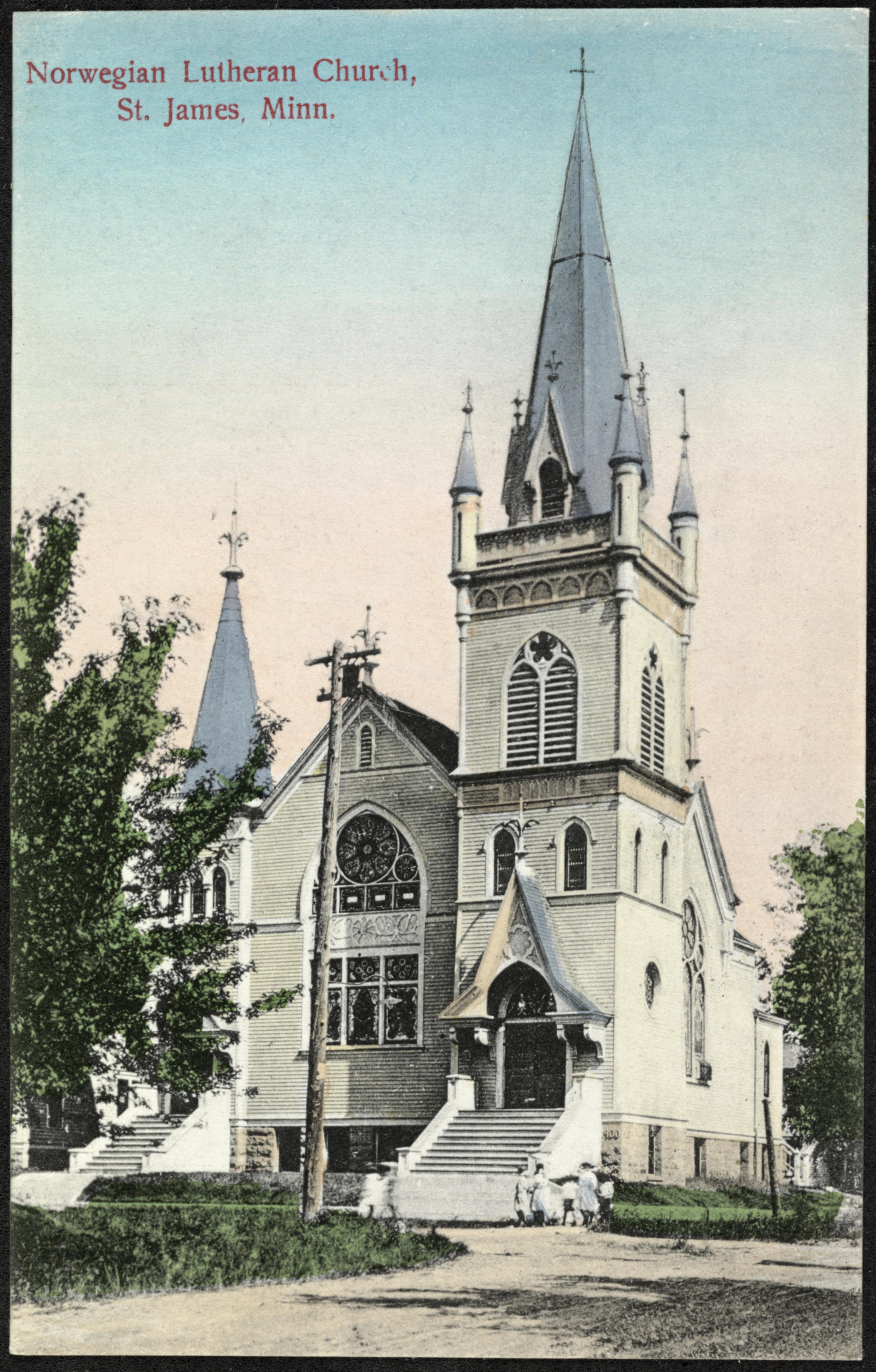 Norwegian Lutheran Church, S. James, Minn.