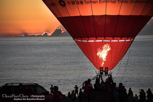 music hot sunrise air balloon 台東 taitung 日出 2015 熱氣球 曙光 鹿野高台 太麻里曙光 光雕音樂會