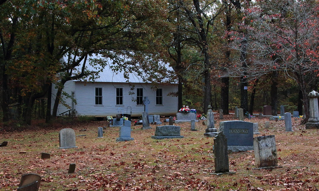 Mammoth Cave Baptist Church and Cemetery on Flint Ridge - Mammoth Cave National Park, Central Kentucky