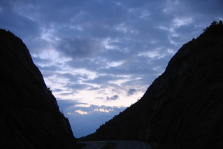 Sideling Hill Road Cut Westbound At Twilight | by kleepet
