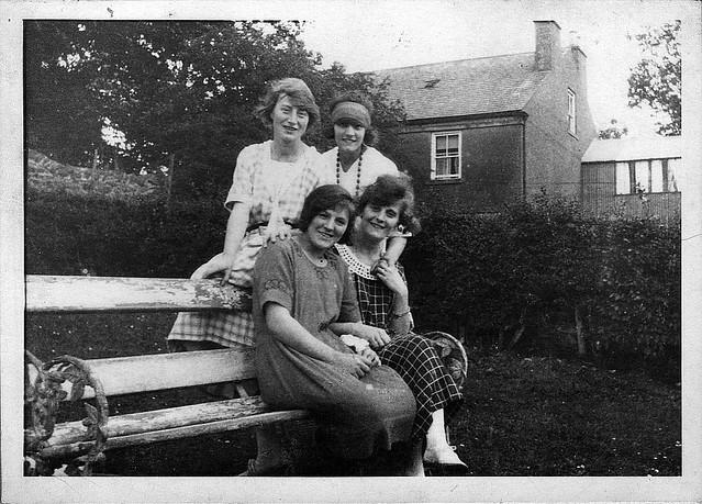 The Hogg Girls c1920