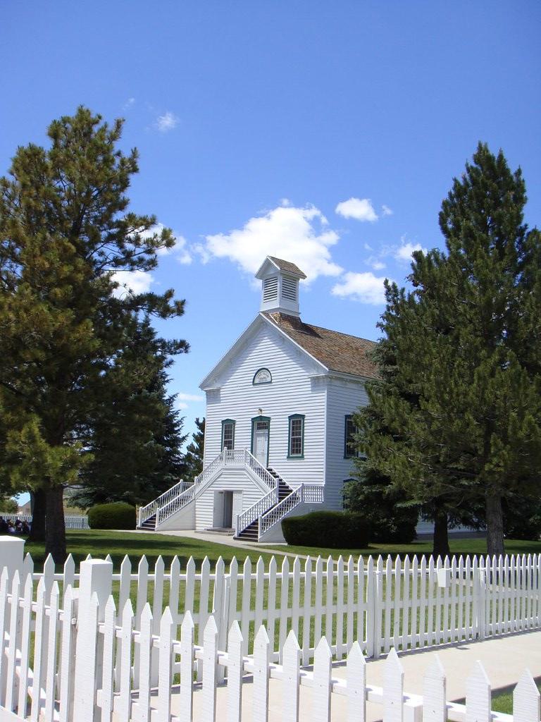 Pine Valley Chapel | Pine Valley - Utah | Heinz J Mahler ...