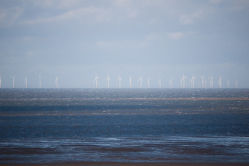 Skegness Wind Farm from Hunstanton