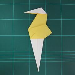 วิธีการพับกระดาษรูปม้าน้ำ (Origami Seahorse) 023