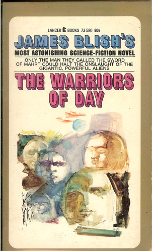 Warriors of Day - James Blish - cover artist Armand Weston